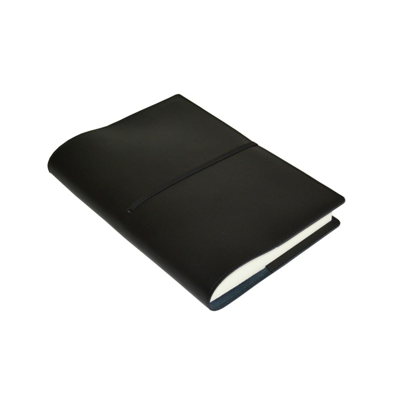 Cookbook Black Cover ~ Black leather book cover real studio