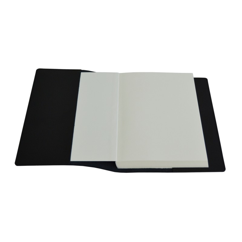 Book Cover Black : Black leather book cover real studio