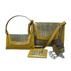 Corn Luxury Croco Handbags