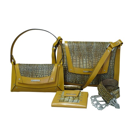 Corn Luxury Croco Handbags