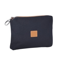 Blue Canvas Multifunction Bag