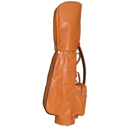 Tan Leather Headcover Golf