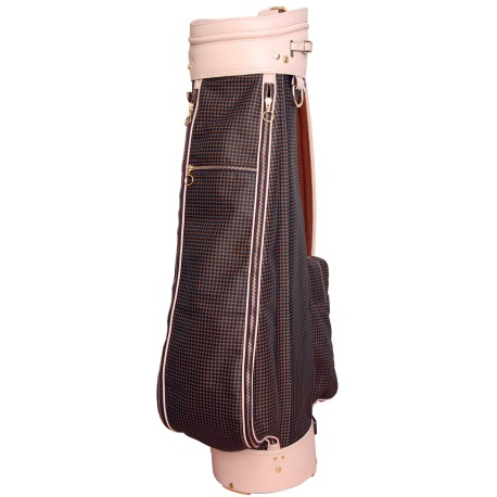 Luxury Leather Golf Bag