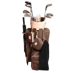 Leather Golf Bags Cart