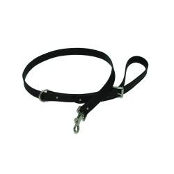 Collar Perro Piel Negro
