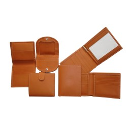 Tan Small Leather Goods