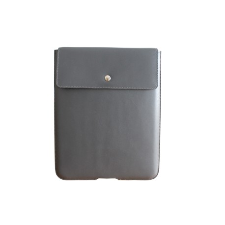Grey Leather Ipad Case