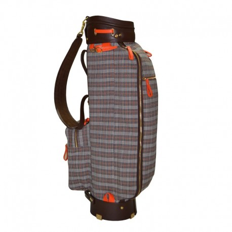 Canvas & Leather Golf Bag