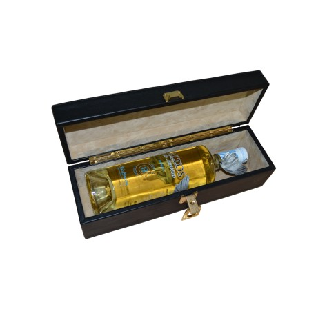 Luxury Leather Wine Bottle