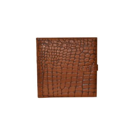 Tan Leather Photo Album