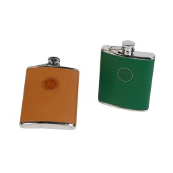 Luxury Leather Hip Flask