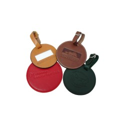 Luxury Leather Bag Tags