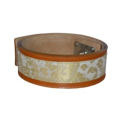 Gold Luxury Leather Belt