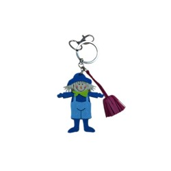 Leather Keyring Child