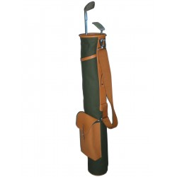 Green Sunday Leather Golf Bag