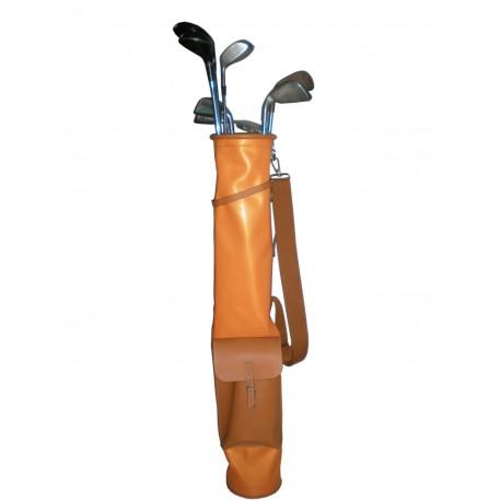 Bolsas de Golf Piel Naranja