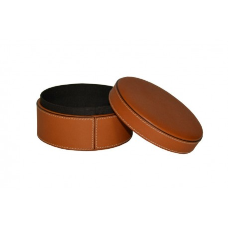 Tan Leather Jewellery Cases
