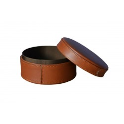 Brown Leather Jewellery Cases
