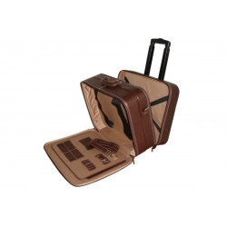 Luxury Leather Trolley