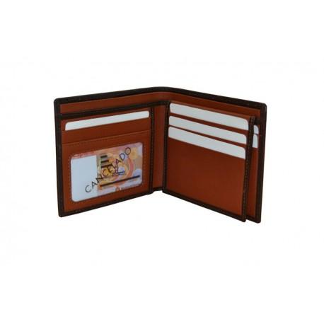Dark Brown Luxury Leather Wallet