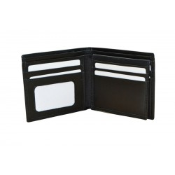 Black Luxury Leather Wallet