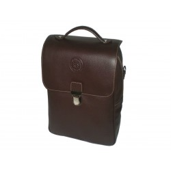 Brown Leather Multifunction Bag