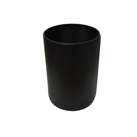 Black Leather Bin