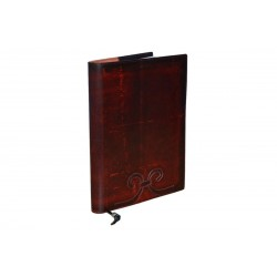 Dark Red Leather Journal Cover
