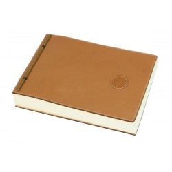 Tan Leather Notebook
