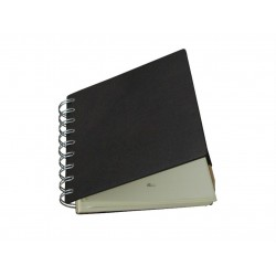 Brown Rings Leather Notebook
