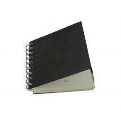 Cuaderno Anillas Piel Marrón