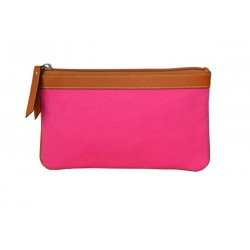 Fucsia Zip Around Wallet