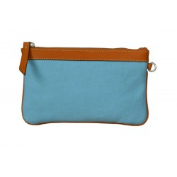 Turquoise Zip Around Wallet