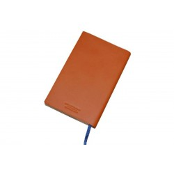 Orange Leather Notebook Golf Score