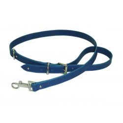 Collar Perro Piel Azul