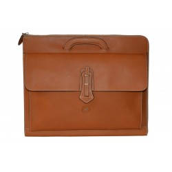 Tan Leather Briefcases Bag