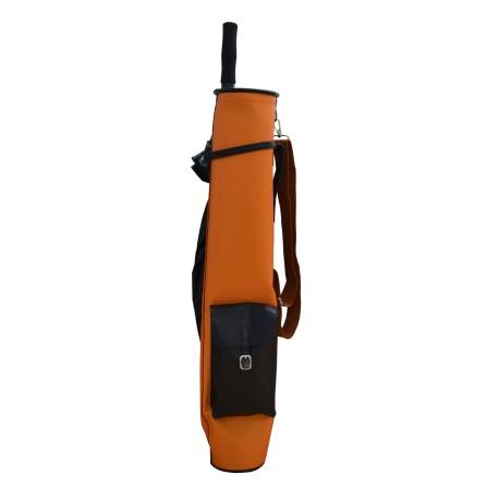 Black Sunday Leather Golf Bag