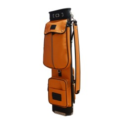 Luxury Travel Leather Golf Bag